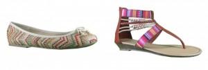 zapatos estilos etnicos de mary paz
