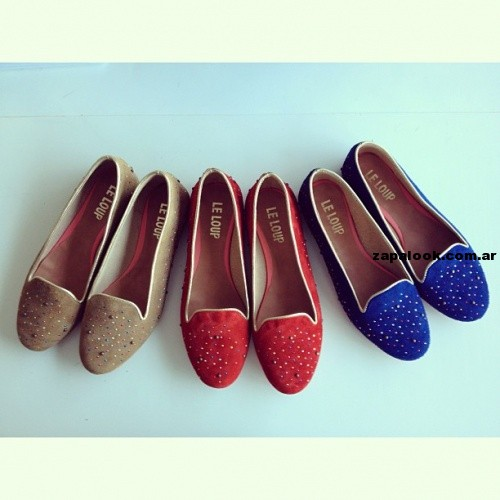 ballerinas con tachas Le Loup shoes