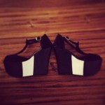 Zapatos en blanco y negro verano 2014 – Potatoe Shoes