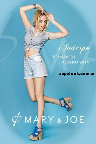 grafica de Mary & Joe primavera verano 2014