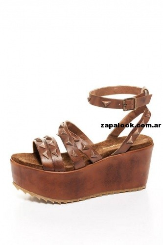 sandalias cobre THE BAG BELT verano 2014