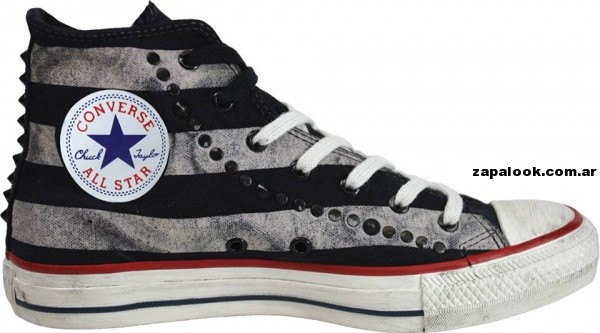 Zapatillas converse All Start a rayas verano 2014