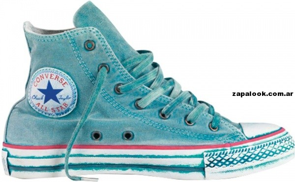 Zapatillas converse All Start  botitas turquesa verano 2014