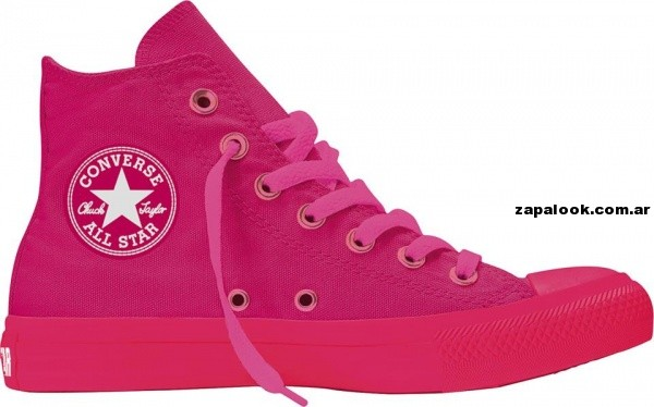 Zapatillas converse All Start fucsia botita verano 2014