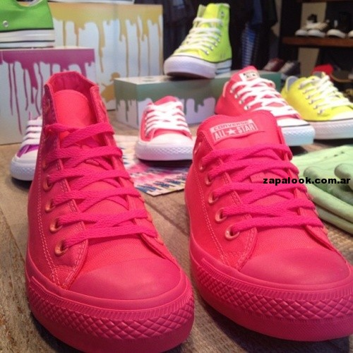 Zapatillas converse All Start fucsia verano 2014