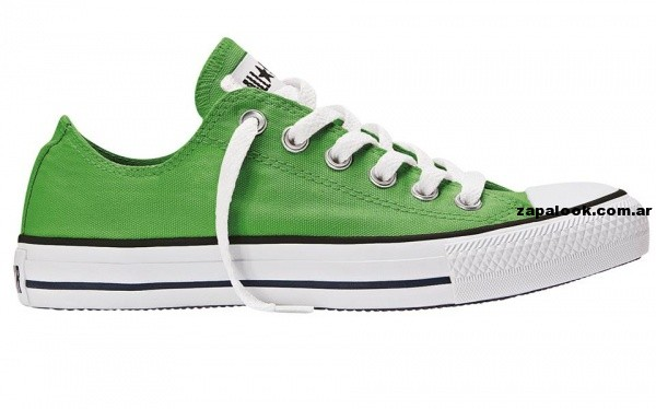 Zapatillas converse All Start  verdeverano 2014