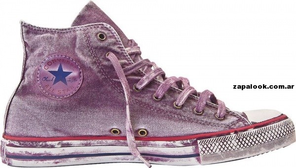 Zapatillas converse All Start  violeta verano 2014