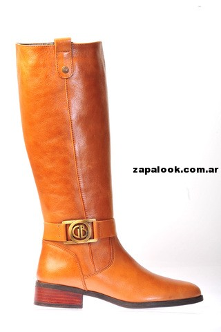 bota de montar color suela Green and Black invierno 2014