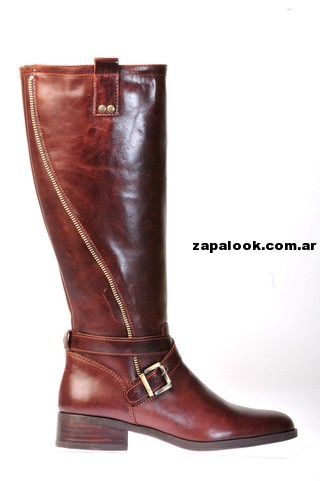 bota de montar marron Green and Black invierno 2014