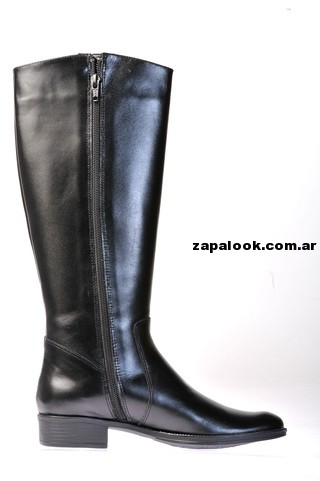 bota de montar negra Green and Black invierno 2014