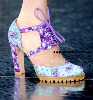 tendencia -  zapatos estampados priamvera verano 2015
