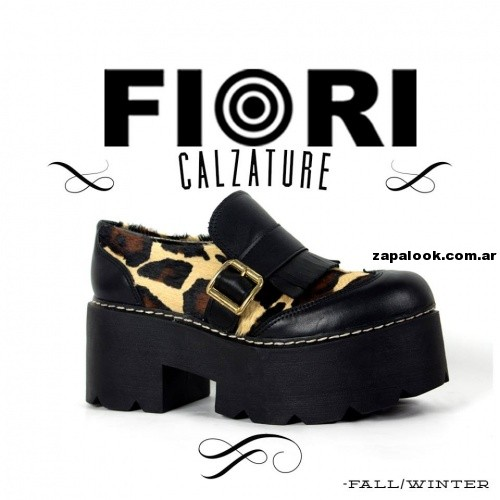 zapato animal print  Fiori Calzature invierno 2014