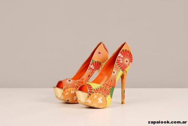 Zapatos multicolor Tivoglio Bene primavera verano 2015