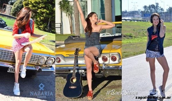 anticipo calzado Nazaria primavera verano 2015 con Barbara Velez