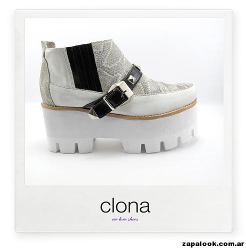 botineta Calzado Clona primavera verano 2015