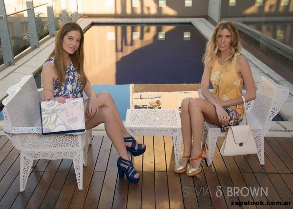 calzado Silvia Brown primavera verano 2015