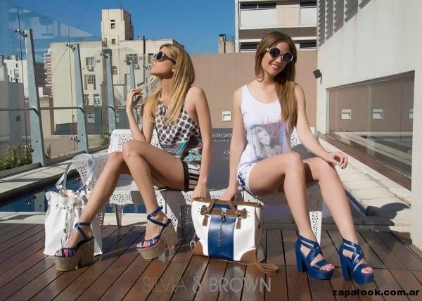 plataformas Silvia Brown primavera verano 2015