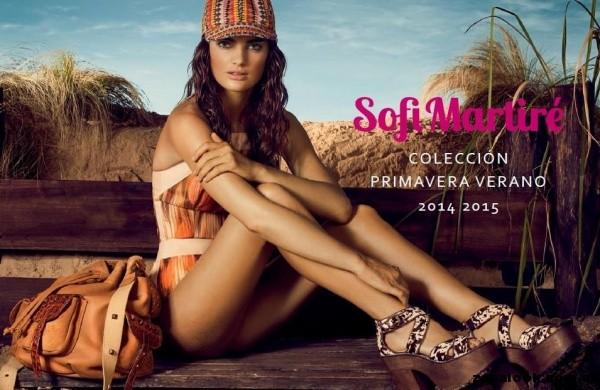 sandalia con base de madera Sofi Martire primavera verano 2015