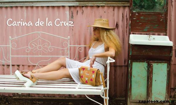 sandalias color suela Carina de la Cruz primavera verano 2015