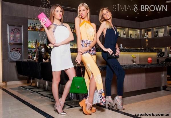 zapatos para fiesta Silvia Brown primavera verano 2015