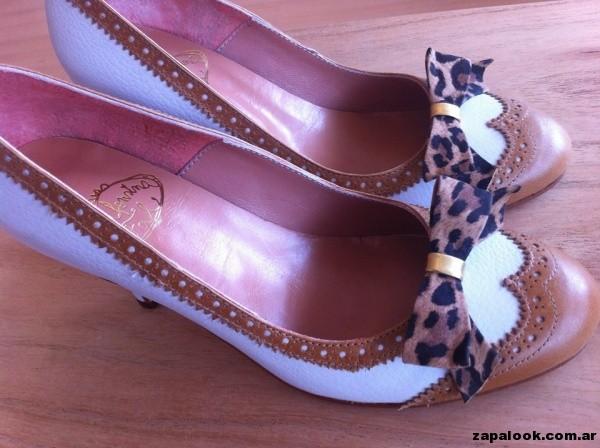 zapatos suela y blanco Alfonsina Fal primavera verano 2015