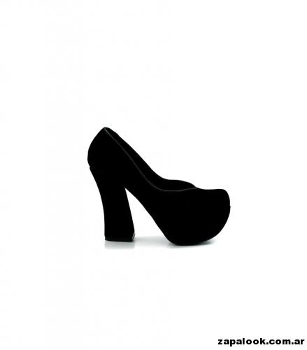 Luciano Marra - Zapatos negros altos para fiestas 2015