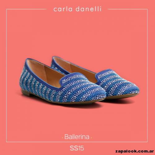 balerina azul y plateado - Carla danelli verano 2015