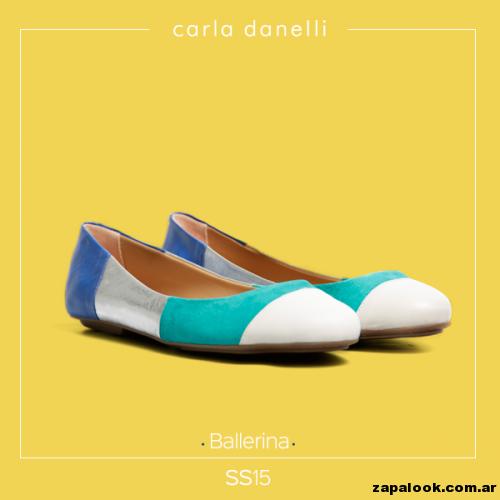 balerina tri color vibrante - Carla danelli verano 2015