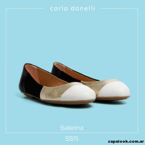 balerina tricolor neutra - Carla danelli verano 2015