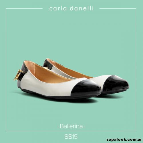 balerinas charol - Carla danelli verano 2015