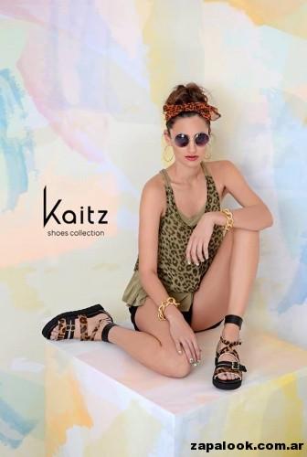 chatitas animal print calzado kaitz primavera verano 2015