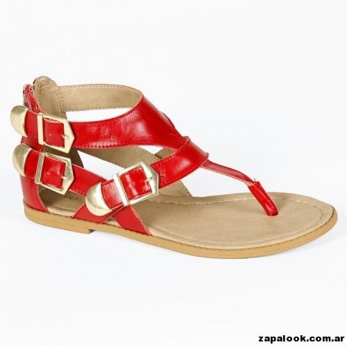 sandalia roja Fragola verano 2015