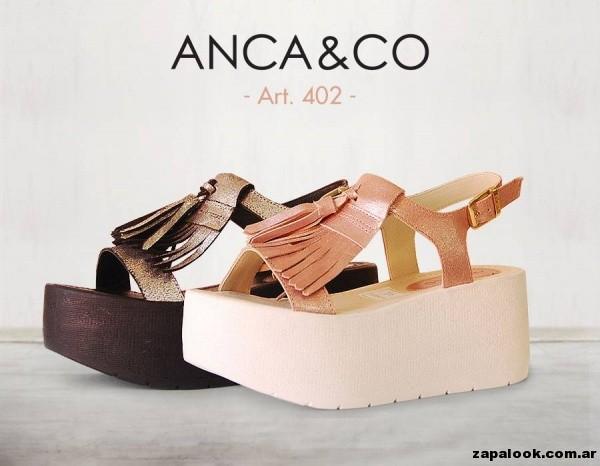 sandalias flecos Anca co primavera verano 2015