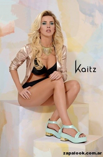 sandalias verde menta calzado kaitz primavera verano 2015