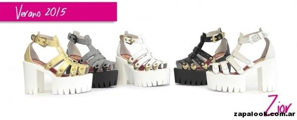 imagenes de sandalias altas de moda