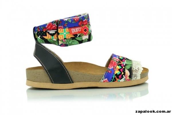 sandalias con pulsera Puro primavera verano 2015