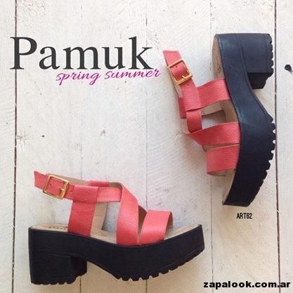 sandalias coral - Pamuk verano 2015