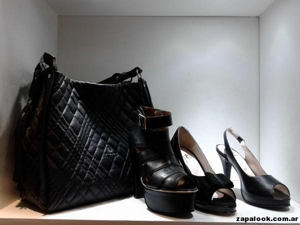 sandalias negras Chiarini verano 2015