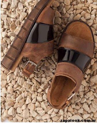 sandalias negras y marrones Maggio ROssetto verano 2015