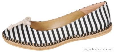 balerinas a rayas Ignacia zapatos verano 2015