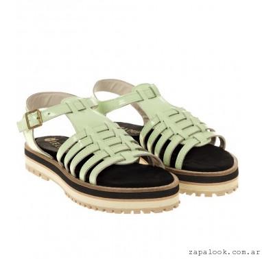 chatitas color menta Le Loup Shoes verano 2015