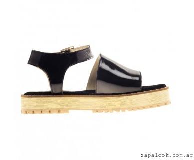 chatitas negras de charol Le Loup Shoes verano 2015