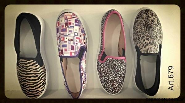 panchas estampadas Lauretta zapatos verano 2015
