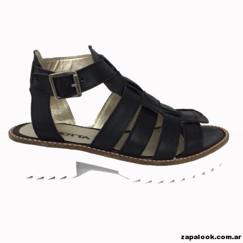 sandalia negra -  Liotta verano 2015