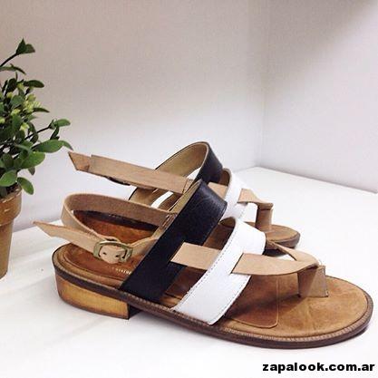 sandalias de cuero Gekke verano 2015