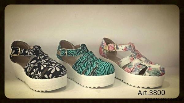 sandalias estampadas Lauretta zapatos verano 2015