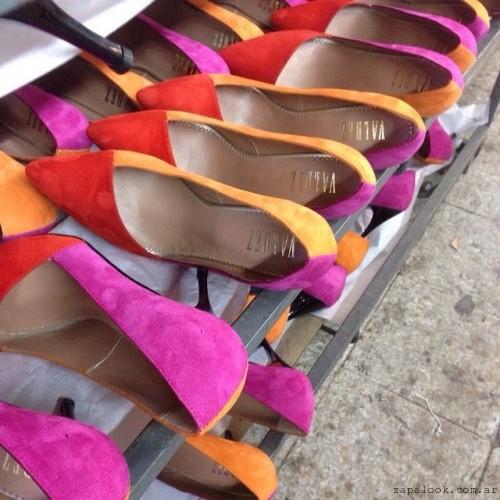 Stilettos multicolores Valdez otoño invierno 2015