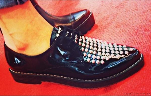 Zapatos con tachas RH by Lali Ramirez otoño invierno 2015 - Anticipo