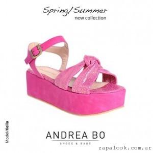ccbc662b21a Facebook Twitter Google+ Pinterest. Sandalias de Andrea Bo Verano 2014 ·  Sandalias con Plataformas Orange shoes primavera verano 2015 · Traza -  Sandalias ...