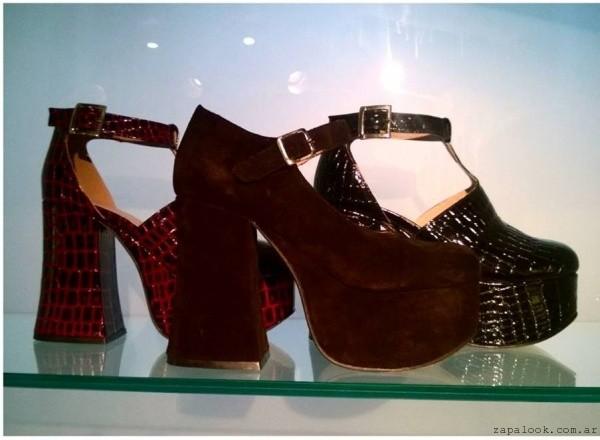 zapatos con tacos altos invierno 2015 by Pepe Cantero